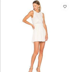 White Textured NBD Bailey dress - BRAND NEW